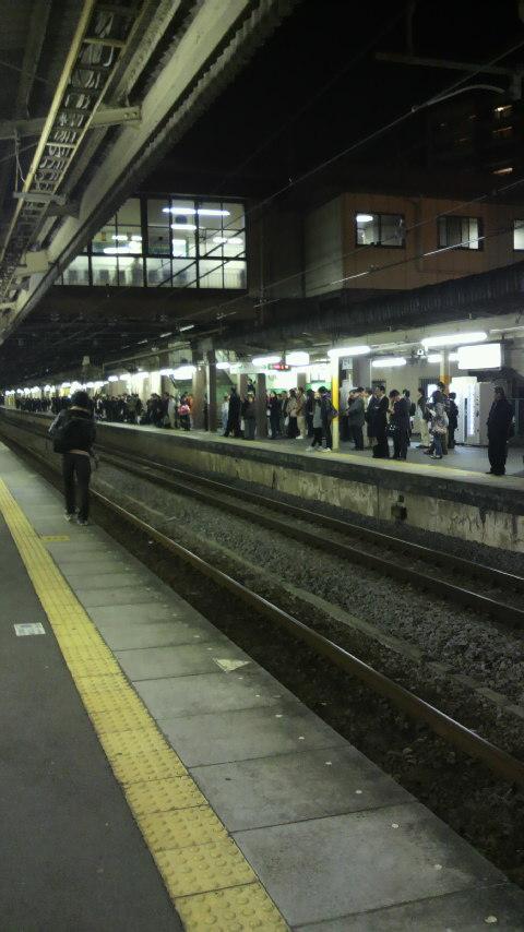 本庄駅は大混雑