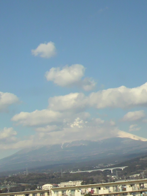 京都へ移動中