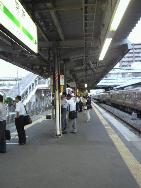 JR大宮駅のポイント不具合